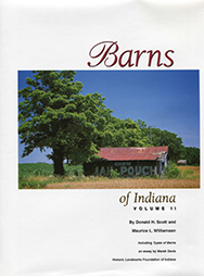 Barns of Indiana Vol 2 (Hardback)