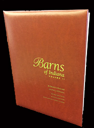 Barns of Indiana Vol 2 (Leather Bound)