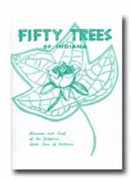Fifty Trees of Indiana Book
