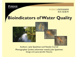 Bioindicators of Water Quality Flash Cards (mobile version)