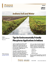 Indiana Soil and Water: Tips for Environmentally Friendly Phosphorus Applications in Indiana
