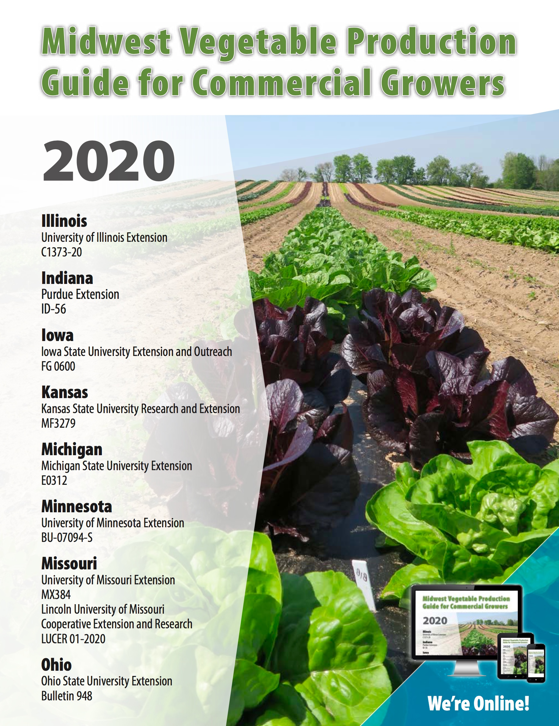 Midwest Vegetable Production Guide for Commercial Growers 2020