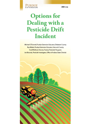 Options for Dealing with a Pesticide Drift Incident (25/pk)
