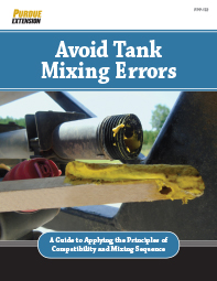Avoid Tank Mixing Errors: A Guide to Applying the Principles of Compatibility and Mixing Sequence