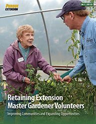 Retainin Extension Master Gardener Volunteers